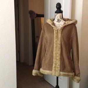 Warm Faux Suede Fur Coat🧥